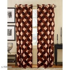 Curtains & Sheers Polyester Printed Door Curtains   *Material* Polyester  *Dimension* ( L X W ) - Curtains - 7 Ft X 4 FT  *Type* Stitched  *Description* It Has 2 Piece Of Door Curtain  *Work* Printed  *Sizes Available* Free Size *   Catalog Rating: ★4 (895)  Catalog Name: Royal Polyester Printed Door Curtains Vol 2 CatalogID_125608 C54-SC1116 Code: 523-1036951-