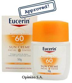 Eucerin – Sun Creme Tinted Facial FPS 60  http://www.opiniaosa.com.br/2012/03/23/eucerin-sun-creme-tinted-facial-fps-60/