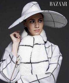 Audrey Hepburn's Granddaughter, Emma Ferrer Makes Her Modeling Debut Channeling Audrey's Poise & Chic Style!!