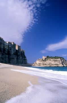 """See 751 photos from 2333 visitors about calabria, beach, and pearls. """"Tropea """"the pearl of the Tyrrhenian Sea"""".Visit the little island """"S. Little Island, Case, Beach, Outdoor, Outdoors, The Beach, Outdoor Games, Outdoor Living"""