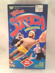 WWF WWE Wrestling Superstars Stretch Wrestlers Ljn Toys Hulk Hogan MINT IN BOX #LJN