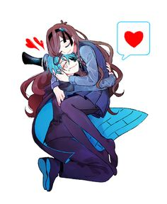 Gravity Falls :: Reverse Falls :: Mabel and Bill Gravity Falls Dipper, Gravity Falls Anime, Reverse Gravity Falls, Gravity Falls Fan Art, Gravity Falls Bill Cipher, Gravity Falls Comics, Reverse Falls, Reverse Pines, Will Cipher