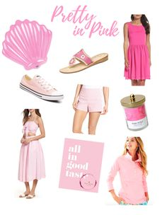 Pool Float: BigMouth   Sandals: Jack Rogers   Dress: Eliza J   Sneakers: Converse   Shorts: Draper James   Candle: Target   Two Piece Set: J.O.A (Top & Bottoms)   Book: Kate Spade   Pullover: L…