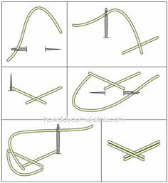 Plaited / Herringbone / Braided Stitch - How Did You Make This? | Luxe DIY