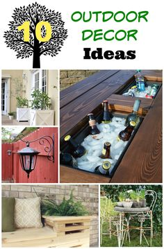 10 Outdoor Decor Ide