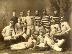 Bentley Image Bank, Bentley Historical Library: 1888 University of Michigan Football Team; Eastern Michigan University, University Of Southern California, Army Football, Football Team, Baseball, Team Photos, Old Photos, Sports Photos, Michigan Wolverines Football