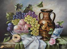 Натюрморт с ежевикой - Натюрморт - Галерея - Картины для интерьера