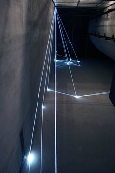 Luminous installations in architecture_ by Carlo Bernardi