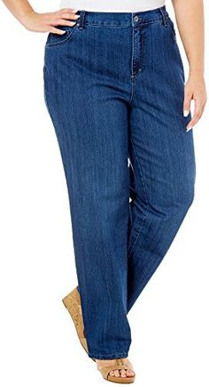New Trending Denim: Gloria Vanderbilt Womens Plus-Size Amanda Tapered Leg Jean Average Length 31.5 Inch Inseam (16W, Blue (Scottsdale)). Gloria Vanderbilt Women's Plus-Size Amanda Tapered Leg Jean Average Length 31.5 Inch Inseam (16W, Blue (Scottsdale))   Special Offer: $24.99      188 Reviews Gloria Vanderbilt Ladies' Amanda Plus Size Stretch Denim Jean Features: Colors: Black, Gray (Glacial Gray), Dark Blue...