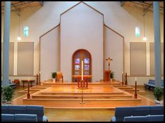 contemporary church altar designs - Google Search
