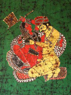 Batik / Afbeelding uit de Kamasutra