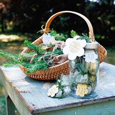 Great wedding favor or share the love on earth day!
