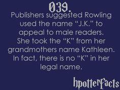 Harry Potter Fact 039