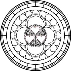 Stained Glass Template 6 by Maleficent84.deviantart.com on @DeviantArt