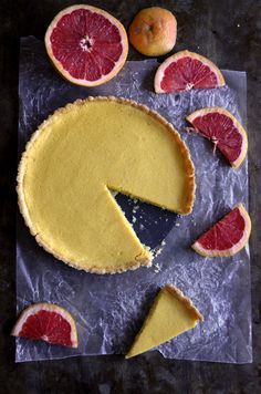 Grapefruit Tart | Pass the Cocoa