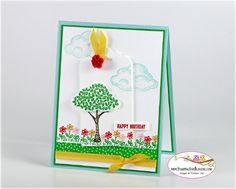 Stampin Up Sprinkles of Life for Stamping and Blogging Sketch #107 card by Sandi @ www.stampingwithsandi.com