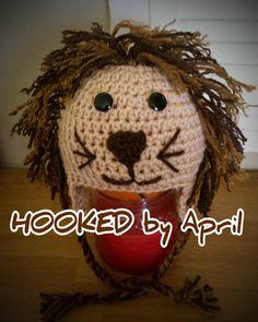 CUSTOM ORDER kids crochet lil LION hat by HookedByApril on Etsy, $15.00
