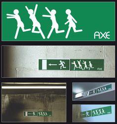 Buena publicidad de Axe