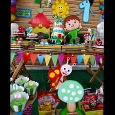 Cumple 1 dantte Baby Tv Cake, Happy 1st Birthdays, Baby Shower, Party, Projects, Events, Ideas Party, Decorating Ideas, Folklore