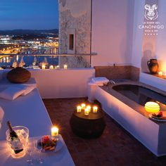 All ingredients for a magical night fit in one photo.  #night #summer #ibiza #romantic  http://www.latorredelcanonigo.com/es/
