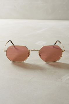 8951fee4a5 Shop the Ray-Ban Hexagonal Mirrored Sunglasses and more Anthropologie at Anthropologie  today. Read