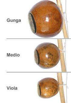 Cabaca for Berimbau - Various sizes