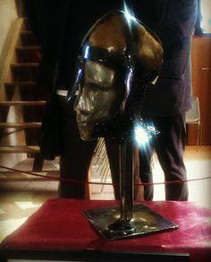 Steel sculpture #saweldart
