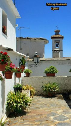 Portugos, Alpujarra,Granada Art School, Travelling, Cities, Places To Visit, To Go, Clock, Memories, Drawings, Plants