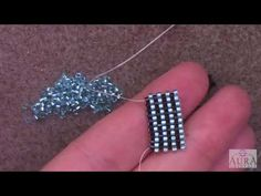 Learn the Even Count Peyote Stitch – A Beginner Beading Tutorial by Aura Crystals - Schmuck Peyote Beading Patterns, Beaded Bracelet Patterns, Loom Beading, Beaded Bracelets, Jewelry Making Tutorials, Beading Tutorials, Peyote Stitch Tutorial, Beading Techniques, Bead Jewelry