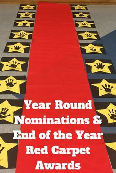 Year Round Nominations & End of the Year Red Carpet Awards