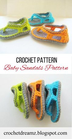 Crochet Baby Sandals Pattern. Make these booties with a matching of sun hat and get your baby summer ready. #crochetbbaybooties, #crochetbabysandal, #crochetbooties, #crochetsandals, #crochetbootiespattern, #crochetsandalspattern, #crochetbabybootiespattern, #crochetbabysandalspattern