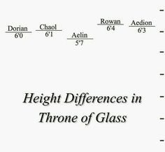 I'm the same height as Aelin!