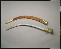 India - Sword and scabbard (talwar) Swords And Daggers, Knives And Swords, Damascus Sword, Saints Vs, Indian Sword, Types Of Swords, Hanuman Wallpaper, Oriental, King Edward Vii