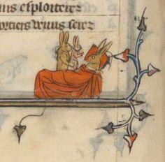 Le Roman de la Rose, par Guillaume de Lorris et Jean de Meun, 14e siècle