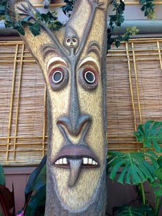 The Tiki Tiki Tiki Room-inations - Disney Blogs | Lots of pics for backyard tiki bar inspiration