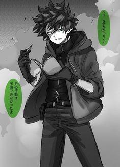Deku: This one get killed too. So checked Boku No Academia, My Hero Academia Episodes, Buko No Hero Academia, My Hero Academia Memes, Hero Academia Characters, My Hero Academia Manga, Villain Deku, The Villain, Anime Villians