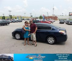 #HappyAnniversary to Ryan Knust on your 2011 #Nissan #Altima from Dakota Smith  at Crossroads Chevrolet Cadillac!