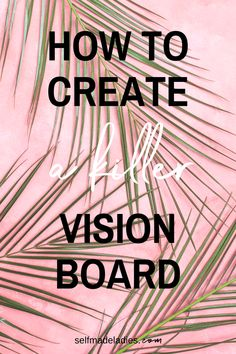 Create a Vision Board That Really Works. Visualization is one of the most powerful exercises you can do to manifest your desired goal. With this guide you create a Vision Board that actually works. The loa Digital Vision Board, Vision Book, Creating A Vision Board, Manifesting Money, Success Mindset, Growth Mindset, Self Improvement, Law Of Attraction, How To Fall Asleep
