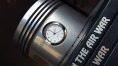 New Listing on Ebay! Authentic B-24 / C-47 / DC-3 Pratt & Whitney R-1830 Airplane Engine Piston Clock