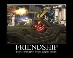 true friendship one driving the warthog and one shooting