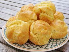 Gougères faciles - Recette de cuisine Marmiton : une recette