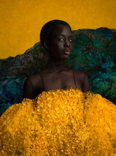 In a series of richly-imagined portraits, the artistic duo Sarah Cooper and Nina Gorfer explore the idea of Utopia in the age of the new Perfect Camera, Collage Techniques, Secret Places, Black Is Beautiful, Beautiful Ladies, Black Girl Magic, Black Girls, Black Art, Fine Art Photography