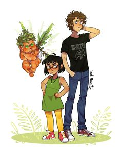 Lester and Meg became my children and I'll defend them mostly Lester because Meg can defend herself