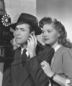 """Picture of Jimmy Stewart and Helen Walker for """"Call Northside 777"""" (1947), dir. Henry Hathaway"""