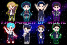 #EXO #Fanart #POWER