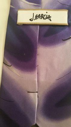 NEW AFFORDABLE Jerry Garcia Geometric 100% Silk MultiColor Classic Mens Neck Tie #JGarcia #NeckTie