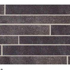 Urbanite Carbon Stratus Listello Ceramic & Porcelain Listello Tile.