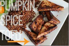 Pumpkin Spice Tofu
