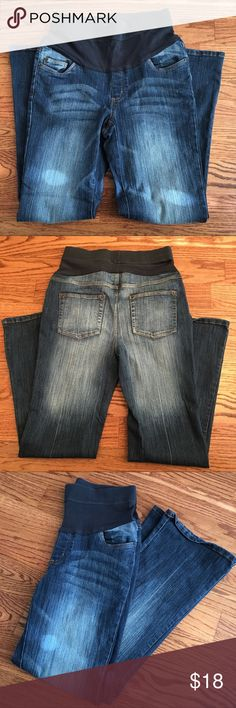 Oh Baby Motherhood Maternity Jeans Oh Baby Motherhood Maternity Super Stretch Dark Wash Jeans. Size Medium 8-10. See photos for details. Oh Baby by Motherhood Jeans Boot Cut