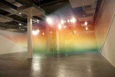 "Lines of rigid thread flow, dance, and swoop in Gabriel Dawe's latest installation, ""Plexus""."